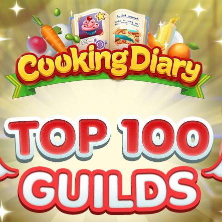 Cooking Diary: Top 100 Guilds!