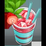 Berry mocktail