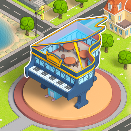 Chef's Grand Piano